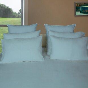 Hunziker Sateen Solid 650 Thread Count 100% Cotton Sheet Set
