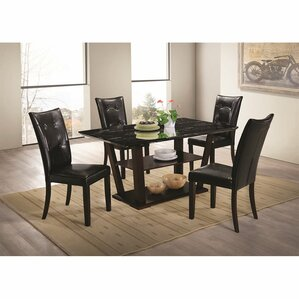 Northville 5 Piece Dining Set by Latitude Run