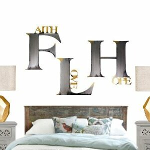 Faith Hope Love Wall Decor | Wayfair