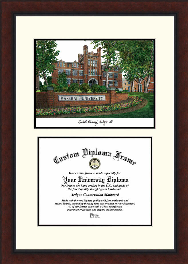 Campus Images Ncaa Marshall University Legacy Scholar Diploma Picture Frame Wayfair