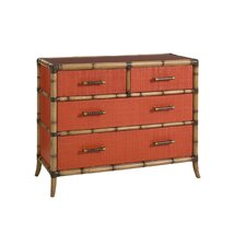 Twin Palms 4 Drawer Chest by Tommy Bahama Home