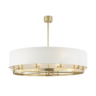Lefler 10-Light Drum Chandelier