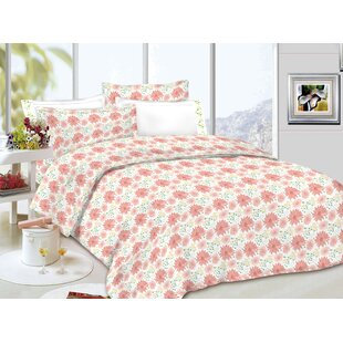 Springtime 100% Cotton Sheet Set by Sutton Home Fashions Today Only Sale