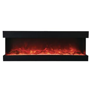 Attridge 3-Sided Wall Mounted Electric Fireplace by Orren Ellis