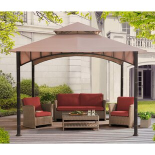 Sunjoy Summer Breeze 10 Ft. W x 10 Ft. D Steel Patio Gazebo