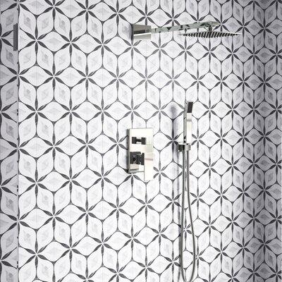 Kathryn Hexagon 7 X 8 Porcelain Field Tile Allmodern