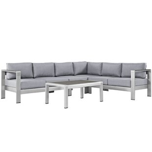 Coline 5 Piece Sectional Set with Cushions