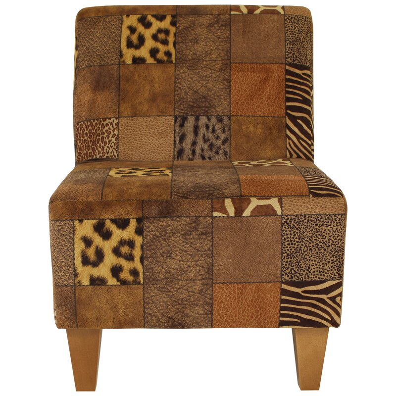 Superbe Ronda Modern Armless Slipper Chair