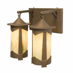 Steel Partners Pasadena Vallejo 2-Light Vanity Light