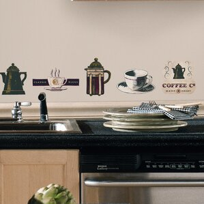 Food Beverage Wall Decals Youll Love Wayfair - Wall decals for kitchen
