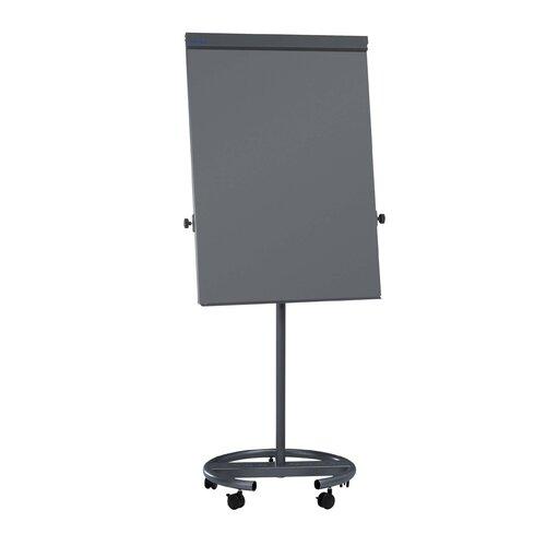 Flipchart Office mit Rundfuß ClearAmbient Farbe: Grau | Büro > Tafeln und Boards > Flipcharts | ClearAmbient