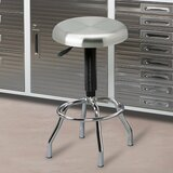 Adjustable Height Swivel Bar Stool by Inbox Zero