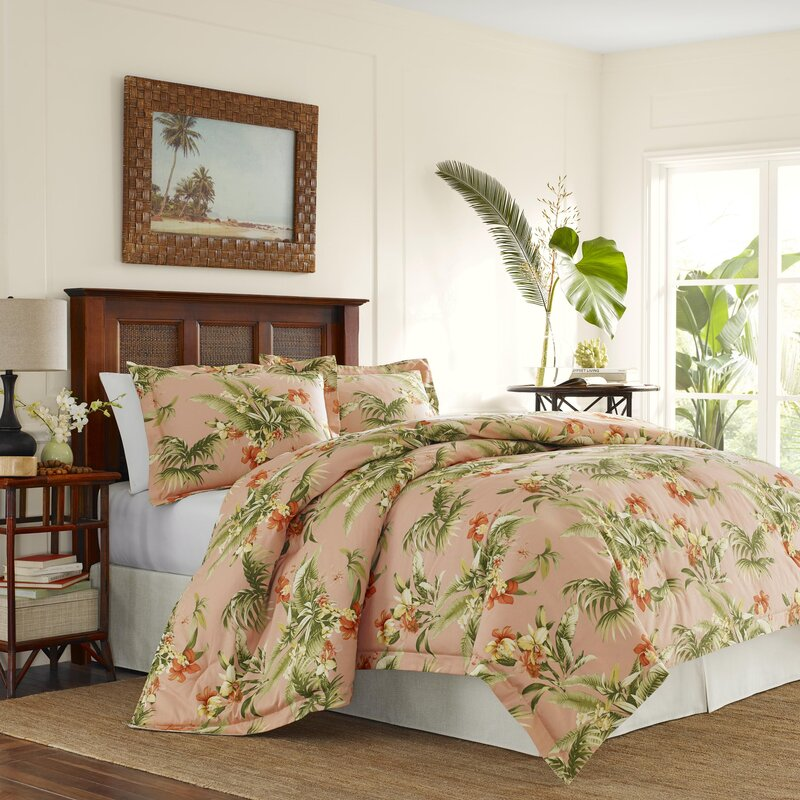 Tommy Bahama Home Siesta Key Cotton Reversible Comforter Set