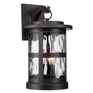 Designers Fountain Terraze 3-Light Outdoor Wall Lantern
