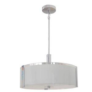 Chiverton 3-Light LED Drum Pendant