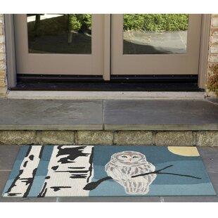 Folsom Hand-Tufted Blue Indoor/Outdoor Area Rug