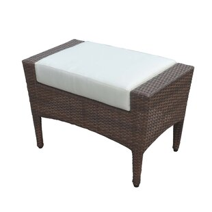 Panama Jack Outdoor Key Biscayne Outdoor Ottoman with Cushion