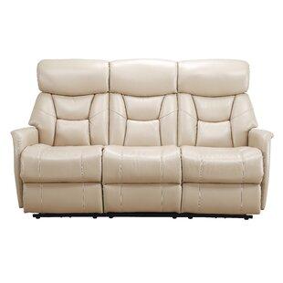 Grip Dual Reclining Sofa Red Barrel Studio