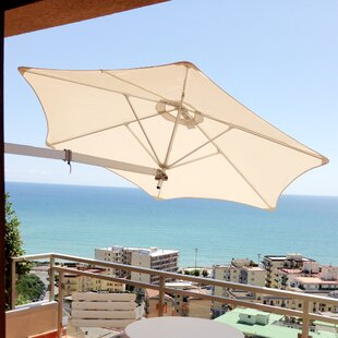 Umbrosa Paraflex 7' Wall Mount Umbrella