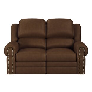 Hilltop Leather Reclining Loveseat by Westland and Birch Amazing