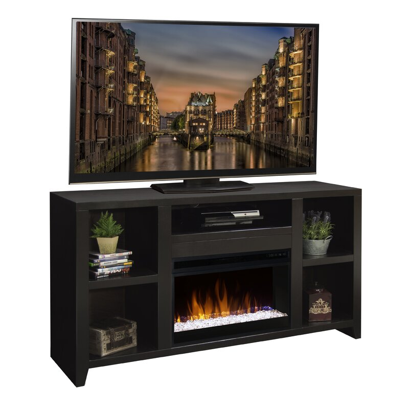Darby Home Co Garretson Solid Wood Tv Stand For Tvs Up To 70 With