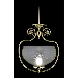 Framburg Chancery 1-Light Bowl Pendant