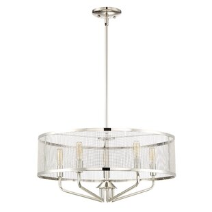 Didymos Candelabra bulb 5-Light Drum Chandelier