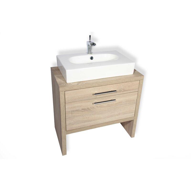 "Hispania Home Montreal 32"" Single Bathroom Vanity Set ..."