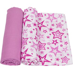 Coupon Stars 2 Piece Swaddle Blanket Set By Miracle Blanket