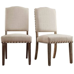 Pompon Nailhead Side Chair (Set of 2) by ..