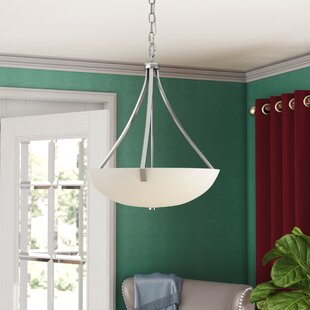 Three Posts Brickyard 3-Light Bowl Pendant