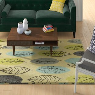 Scheidt Tropical Hand-Tufted Blue/Green Area Rug