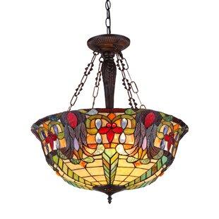 Astoria Grand Laurie 3-Light Bowl Pendant