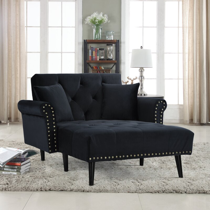 chaise lounge for living room. Tilstone Chaise Lounge House of Hampton  Reviews Wayfair