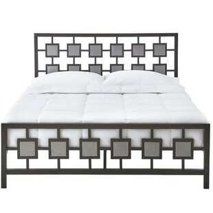 Harlingen Upholstered Panel Bed by Wrought Studio