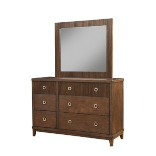 Brayden Studio Sanmiguel 6 Drawer Double Dre..