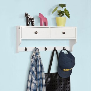 Isidore Wall Mounted Coat Rack By Brambly Cottage