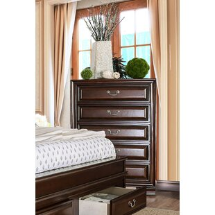 Charlton Home Rector Transitional 5 Drawer Chest
