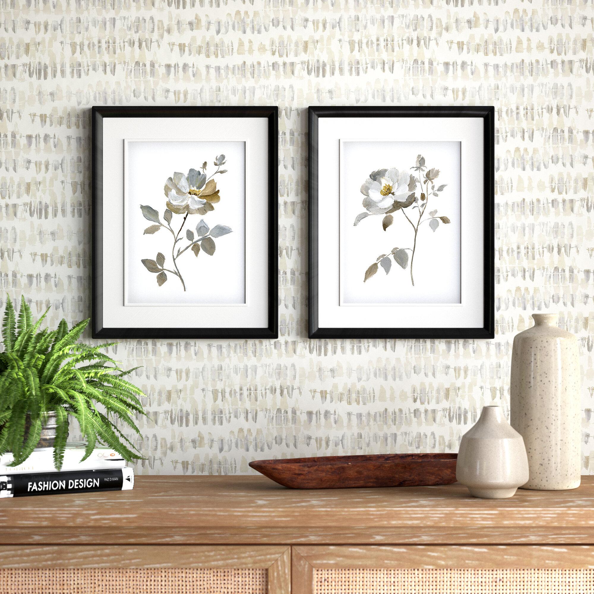 Neutral Rose I 2 Piece Picture Frame Set Print Set On Paper Reviews Joss Main