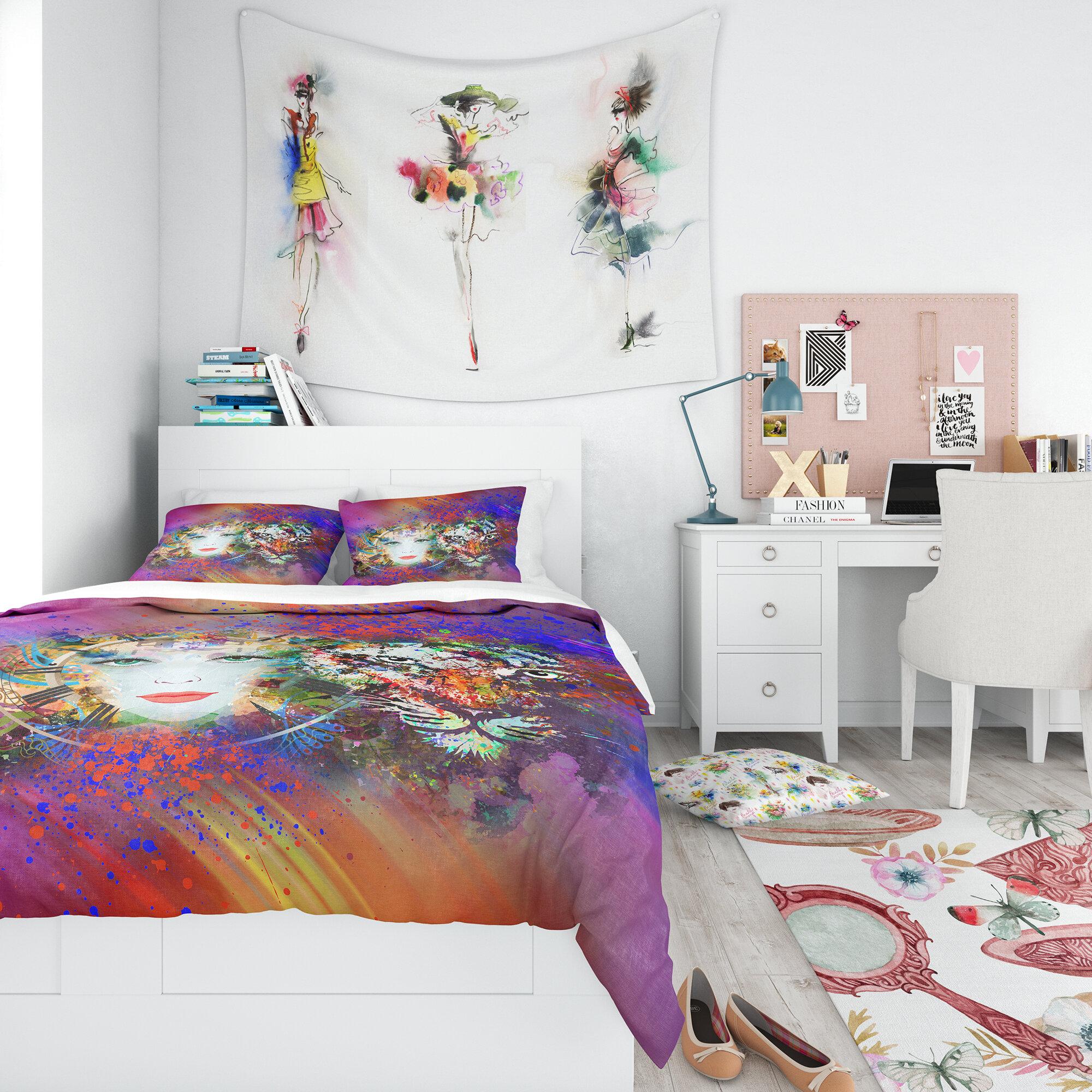East Urban Home Modern Teen Duvet Cover Set Wayfair