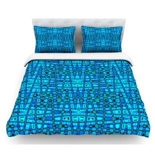 Variblue by Nina May Featherweight Duvet Cover