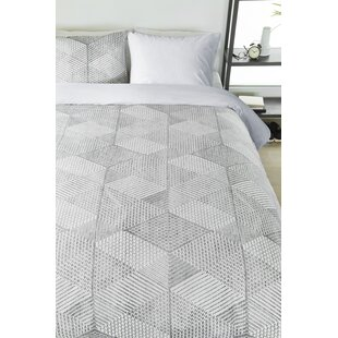 Winkelman 100% Cotton 3 Piece Duvet Cover Set
