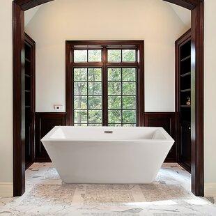 Find 70 x 32 Freestanding Soaking Bathtub ByStreamline Bath