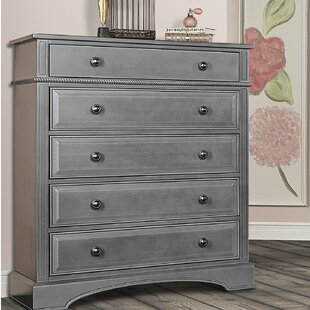 Evolur 5 Drawer Chest