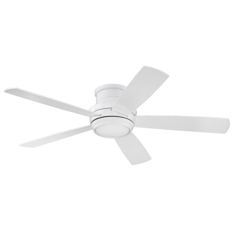 52 Cedarton Hugger 5 Blade Ceiling Fan With Remote Light Kit Included Reviews Allmodern