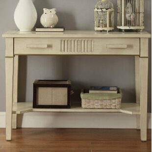 Littrell Wooden Console Table By Rosecliff Heights