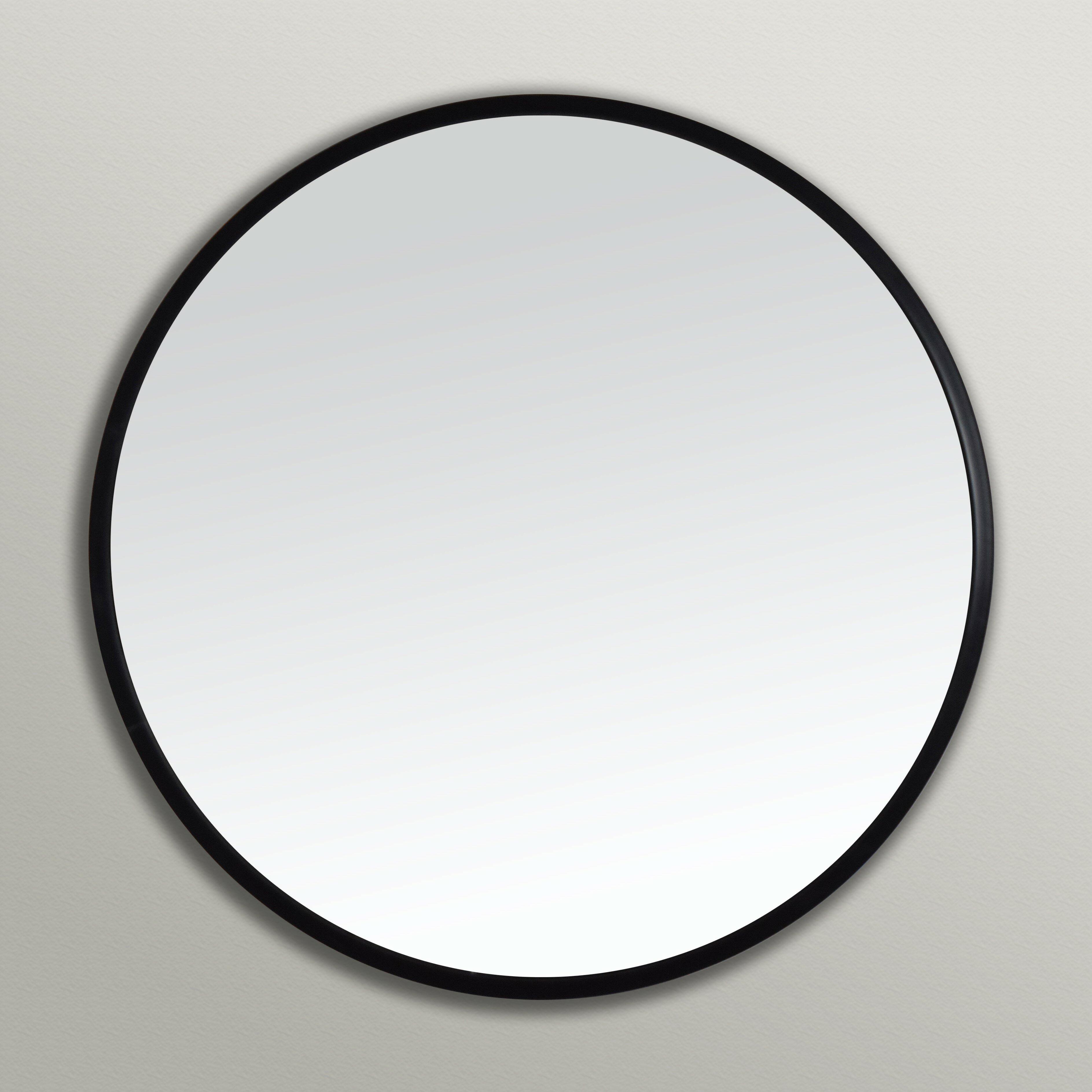 Ebern Designs Clique Modern And Contemporary Wall Mounted Mirror Reviews Wayfair