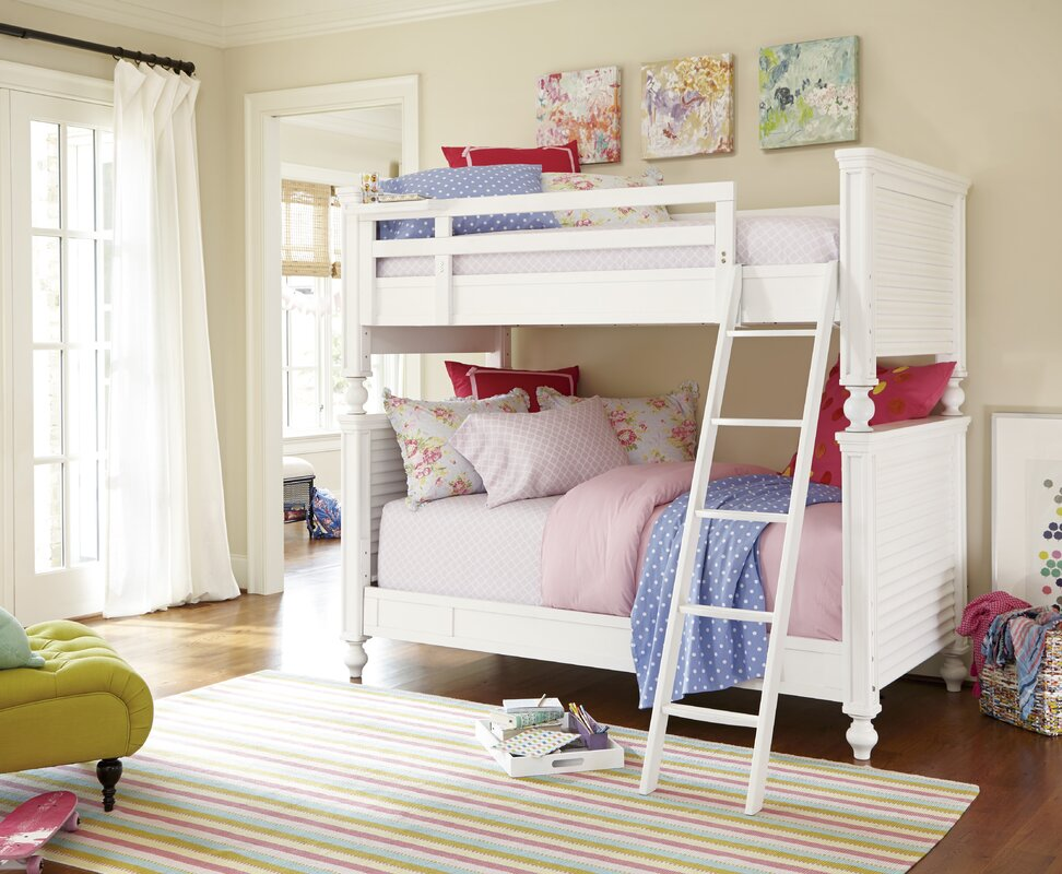 Chassidy Modern All American Bunk Bed & Harriet Bee Chassidy Modern All American Bunk Bed u0026 Reviews | Wayfair
