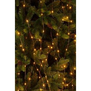 20 Warm White Twinkling Branch String Light Image