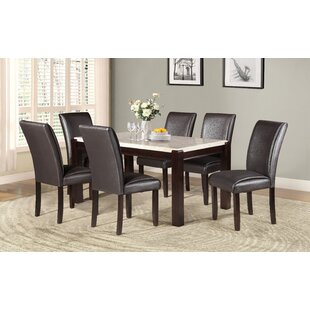 Malachi Solid Wood Dining Table